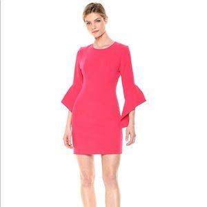 Black Halo Laguna Pink Lorie Dress Size 10